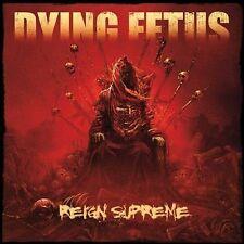 DYING FETUS - REIGN SUPREME [DIGIPAK] NEW CD