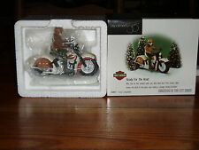 DEPT 56 CHRISTMAS IN THE CITY READY FOR THE ROAD NIB