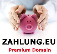 zahlung.eu Business Domain für Euro Geld Banken Finanzen Zahlungen Money Bank