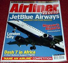 Airliner World 2006 Febrero Jetblue, London City, Dash 7 , Jazeera
