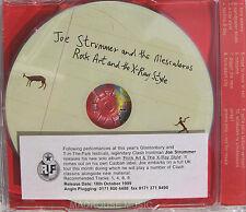 CLASH CD JOE STRUMMER & Mascaleros Rock Art And The X-Ray Style UK PROMO w/ STKR