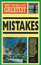 """""""VERY GOOD"""" The World's Greatest Mistakes, Blundell, Nigel, Book"""