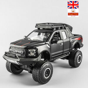 Ford Cars Model Big Wheel Alloy Pull Back Diecast Toys Kids Gifts Multicolor