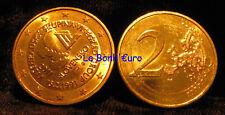 Monnaie 2 Euro Slovaquie 2011, Visegrad, neuve du rouleau, dorée à l'or fin, UNC
