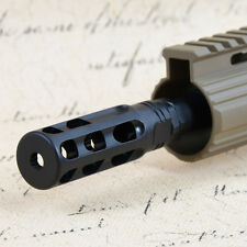 Tactical .308 5/8x24 Thread Steel Muzzle Brake with Crush Washer