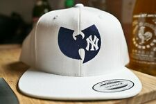 New York Yankees, Wu Tang, 90s Hip Hop Rap Embroidered Snapback Hat