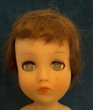 VINTAGE ANTIQUE 1930'S ? EIH HORSMAN COMPOSITION & RUBBER GREEN EYE DOLL 17 In.