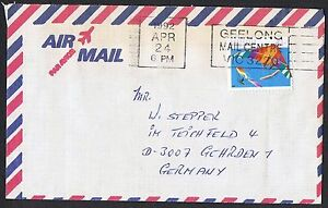 1989-90 Sports $1.10 Golf & $1.20 Hang Gliding on separate airmail covers TS1012