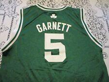 Boston Celtics Kevin Garnett #5 Adidas Basketball Jersey- Youth Lg = Adult Sm