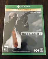 Hitman 2 Gold Edition Xbox One Plastic Case Only (NO GAME!)