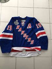 BRAD RICHARDS AUTHENTIC PRO-JERSEY AUTOGRAPHED NEW YORK RANGERS OCEANIC RIMOUSKI