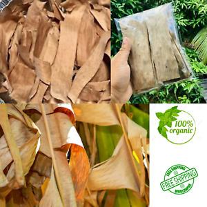 Dried Banana Leaves Pet Supplies Care Fish , Aquariums Free Shipping
