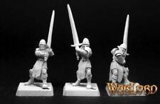 Reaper Miniatures 14103: Templar Unforgiven(3)Crusaders Grunt - Warlord Metal Mi