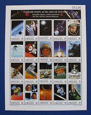 Micronesia (#334) 1999 Russian Space Achievements MNH sheet