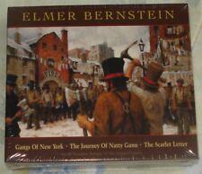 GANGS OF NEW YORK (Elmer Bernstein) rare factory sealed 4-cd box set (2008)