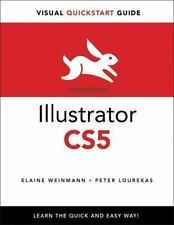 Illustrator CS5 for Windows and Macintosh: Visual QuickStart Guide by Lourekas,