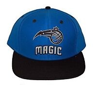 Orlando Magic NBA Snapback Hat Cap - 2 Tone Blue Black