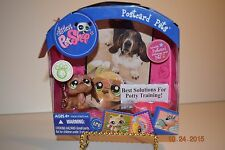 Littlest Pet Shop Postcard Pet #1358 Basset Hound , Age 4+, HTF, VERY RARE, NIP