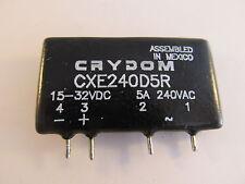 CXE240D5R Crydom SIP SSR, 15-32VDC, 5A, gebraucht, kurze Pins