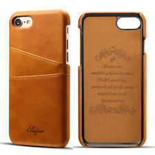 Back Credit Card Slot Premium Slim Leather Case Cover For iPhone 6S 7 8 Plus   Y