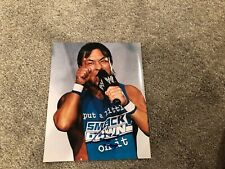 "FUNAKI ""WWE"" AUTOGRAPHED 8X10 PHOTO"