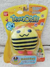 Gotchi-Gear-Pet-Pouch-Shimashimatchi-amp-Lanyard-Soft-Carry-Pouch-Tamagotchi