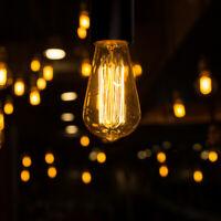 Globe Electric Pendant Light Plug-In Cord Fixture Hanging Edison Bulbs Lights