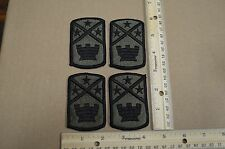 Lot of (4) US Army 194th Engineer Brigade Subdued Unit Patches