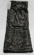 LADIES MARKS AND SPENCER TWIGGY BLACK AND GOLD MIX SEQUIN SKIRT SIZE 18