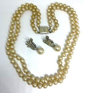 Vintage Vendome Necklace Earrings Repair Harvest Craft Lot