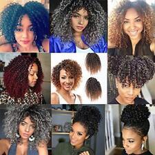 "8"" Mali BOB Crochet Braids Afro Kinky Twists Braiding Synthetic Hair Extensions"
