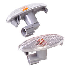 1Pair Side Turn Signal Lamp Fender Light For Toyota Corolla Camry Yaris RAV4