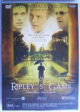 RIPLEY'S GAME (2002) DVD MOVIE John Malkovich, Dougray Scott, Lena Headey