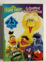 Sesame Streets 25th Birthday: A Musical Celebration (DVD, 1997)