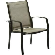 Hampton Bay Commercial Grade Aluminum Oversized Outdoor Dining Chair (2-Pack)