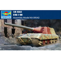 Trumpeter 09542 1/35 Scale German Stug E-100 Military Plastic Assembly Model Kit