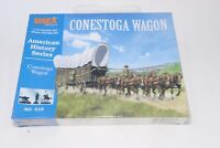 Imex 1:72 25mm American History Series Conestoga Wagon Model Kit New Frontier