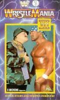 WWF Wrestlemania VII 7 1991 ORIG VHS WWE Wrestling