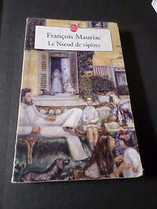 Book Pocket François Mauriac The Node Of Viper, N.251