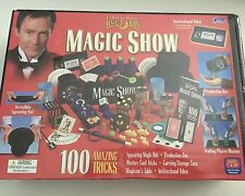 2003 CADACO MAGICIAN LANCE BURTON MAGIC SHOW 100 AMAZING TRICK SET BOX HOUDINI
