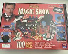 2003 Cadaco Magician Lance Burton Magic Show 100 Amazing Trick Set Box Houdini