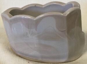 Spoonholder Old Mule Spoonrest - Mosser USA - Gray Swirl Marble Glass