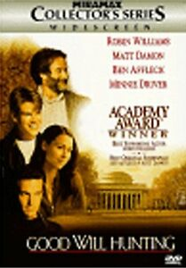 Brand New DVD Good Will Hunting Robin Williams Matt Damon Ben Affleck Stellan