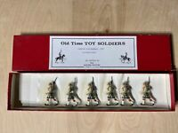 Old Time Lead Toy Soldiers Cameron Highlanders 1900 Authenticast W/ A Note