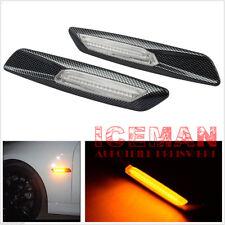 LED Carbon Seitenblinker Seitenbeleuchtung BMW 1er E81 E82 E87 E88 X3 E83 2012