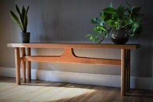 mid century modern bench broyhill brasilia inspired