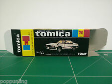REPRODUCTION BOX for Tomica Black Box No.20 Nissan Skyline 2000 Turbo GT-ES *
