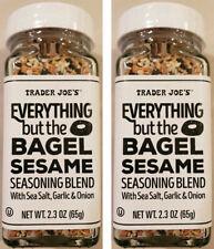 Trader Joes Everything But the Bagel SESAME BLEND SPICE, Sea Salt Garlic & Onion