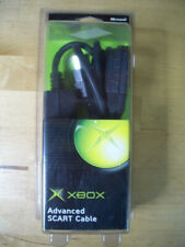 XBOX ADVANCED SCART CABLE MICROSOFT ORIGINAL NEW NUEVO