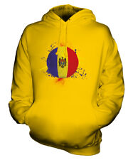 MOLDOVA FOOTBALL UNISEX HOODIE TOP GIFT WORLD CUP SPORT